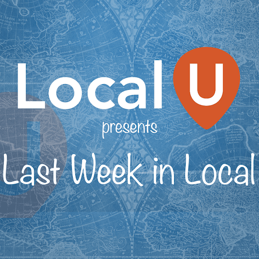 Video: Last Week in Local September 18th - Local University