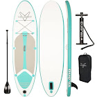 Vilano Journey Inflatable Sup Stand Up Paddle Board Kit White / Blue