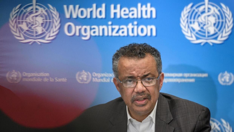 Tổng giám đốc Tổ Chức Y Tế Thế Giới (WHO) Tedros Adhanom Ghebreyesus trong cuộc họp báo tại Geneve, ngày 30/01/2020.