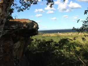 Morro do Garrote, local onde as meninas foram violentadas (Foto: Patrícia Andrade/G1)