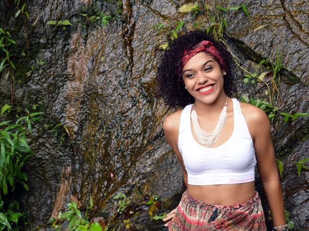 Jovens sofreram preconceito por causa do cabelo em Santos (Foto: Nayla Souza Ribeiro/Arquivo Pessoal)