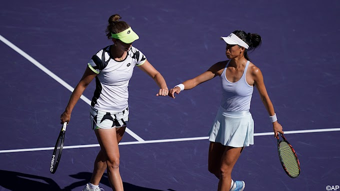 Mertens en partner Hsieh Su-Wei pakken eindzege op Indian Wells-toernooi