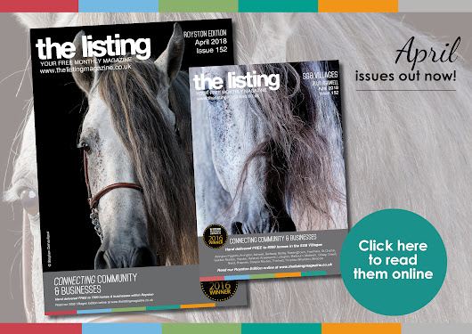 The Listing April Issues are Out Now! Click through to read them online...