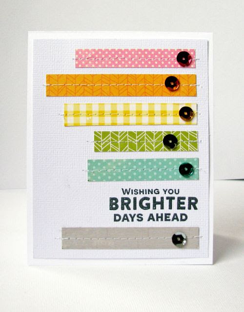 Nicole-Wishing you brighter days ahead card
