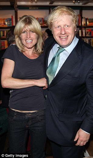 Rachel Johnson and Boris Johnson attend Stanley Johnsons' book launch party in 2012