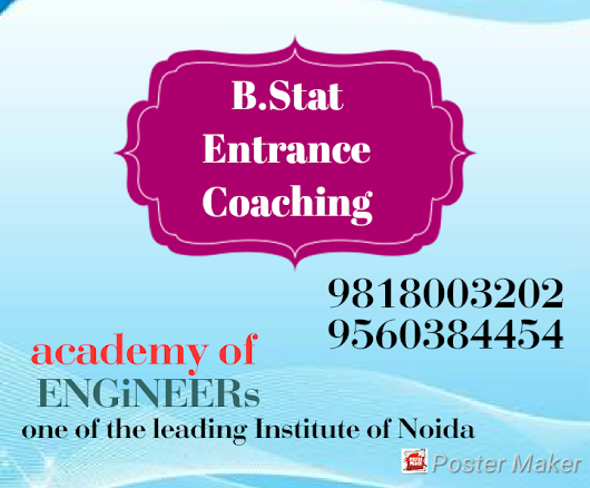 Bachelor of Statistics Honours Entrance Coaching In Noida Near Sector-52