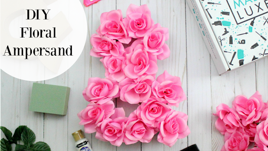 DIY Floral Ampersand – The Bajan Texan