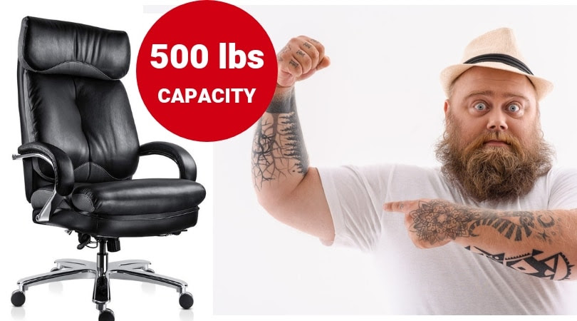 Best Big and Tall Office Chairs with 500 lbs Capacity ...