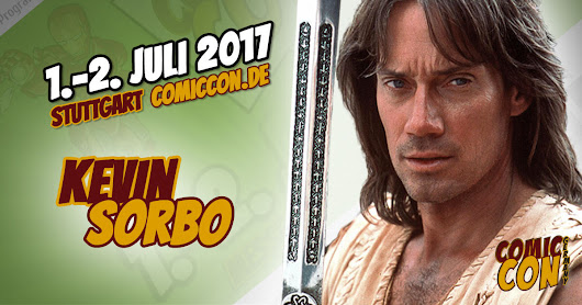 Kevin Sorbo - COMIC CON GERMANY