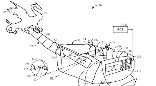 Universal Orlando Resort Patents Showcase Augmented Reality