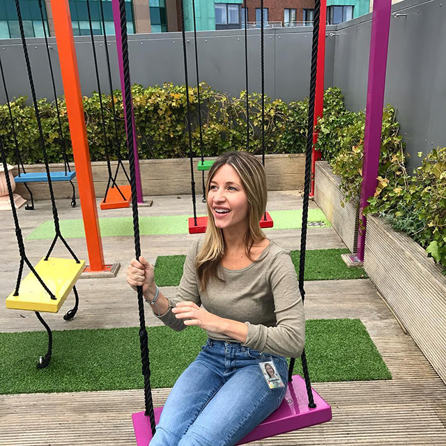 Outdoor Swings At Google Dublin