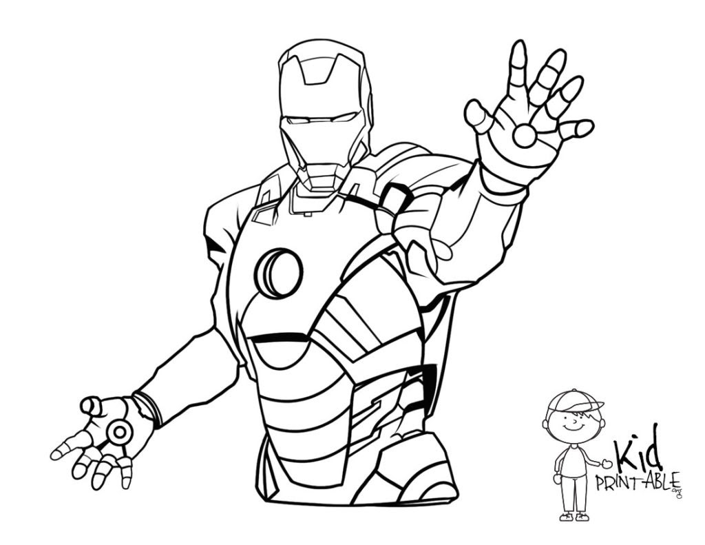 Iron Man Coloring Pages at GetColorings.com | Free ...