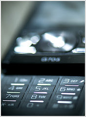 Sony Ericsson G705 - Keypad