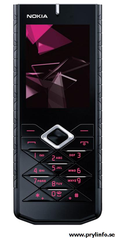 nokia 7900 prism mobil telefon prylar gadgets