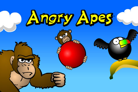 Angry Apes Game - for Android, iPhone and Playbook