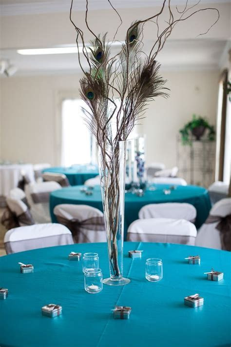 Best 20  Peacock centerpieces ideas on Pinterest