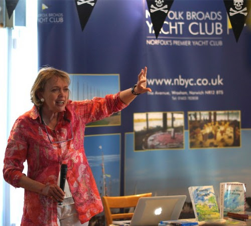 Speaking about filming 'Coot Club' and 'The Big Six' on the Norfolk Broads