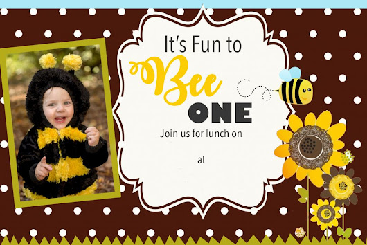 Bumble Bee Birthday Party - Messymom