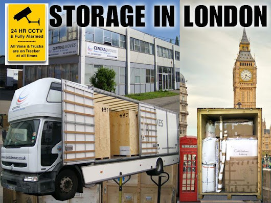 Storage in London | Long or Short Term Storage in London | Central Moves