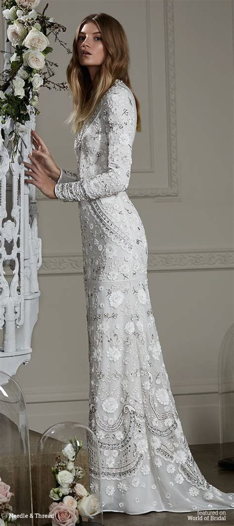 Needle & Thread Fall 2016 Wedding Dresses   World of Bridal