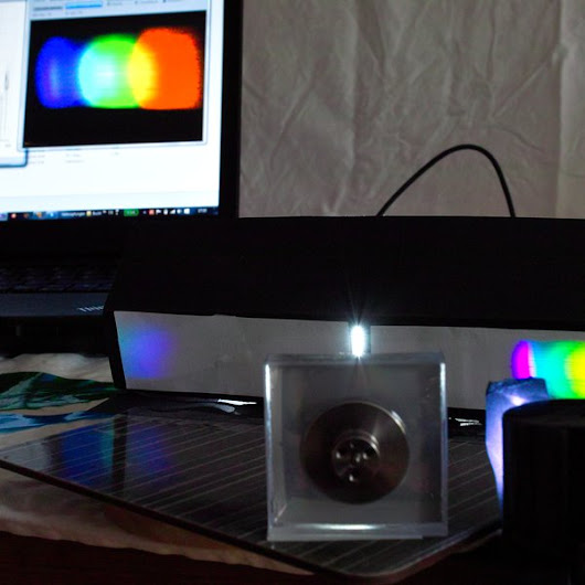 Universal software for DIY spectrometers
