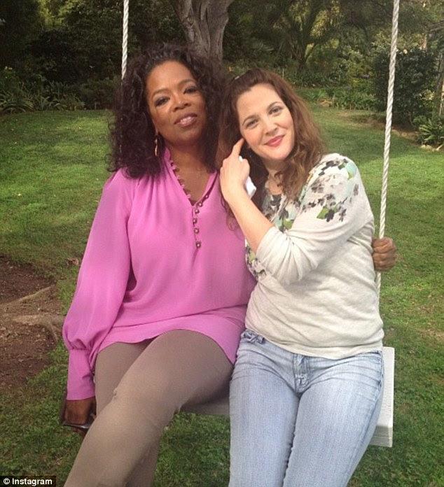 Onlar komşuyuz: Oprah çifti sadece kilometre dışında yaşadığını tweeted