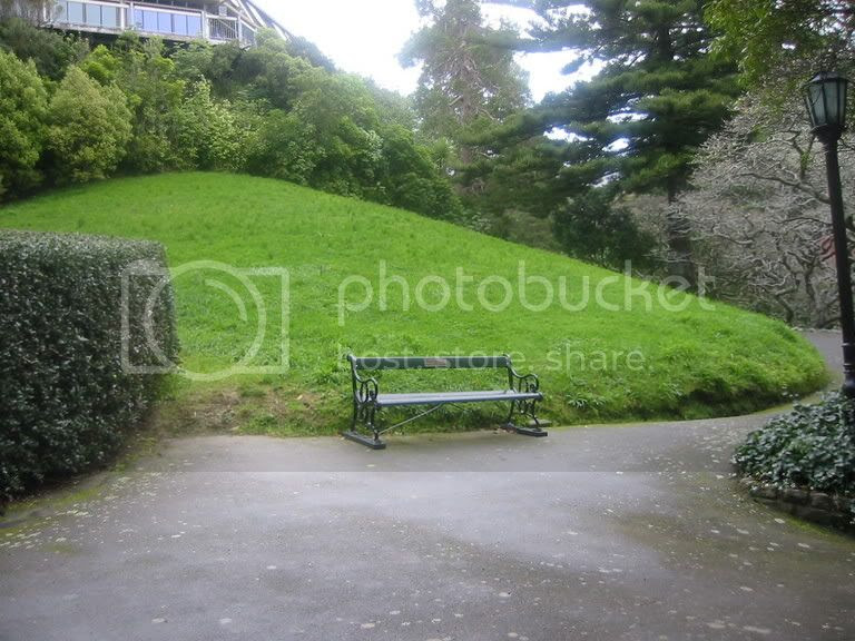 To state the obvious... a park bench