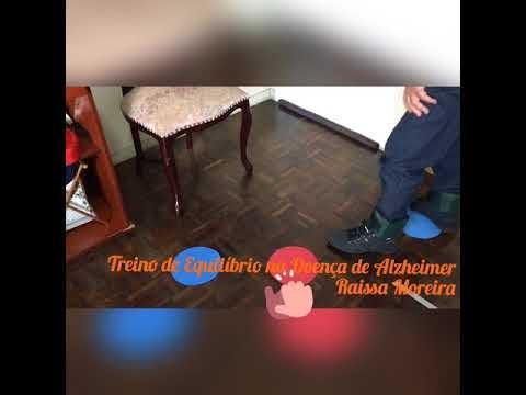 TREINO DE EQUILÍBRIO NA DOENÇA DE ALZHEIMER
