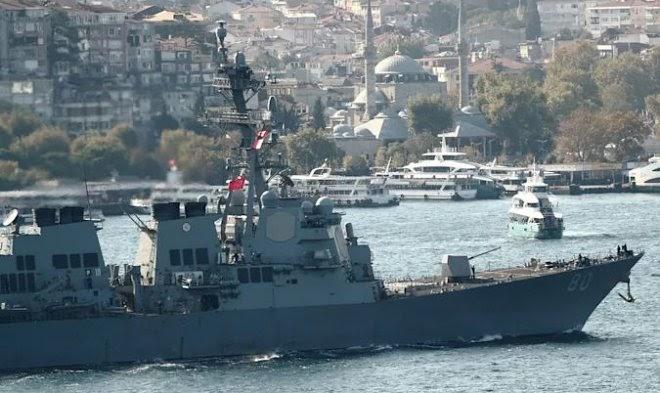 За прошедший год неизвестные подделали информацию о дислокации более 100 боевых кораблей
