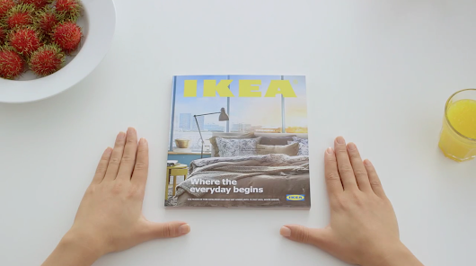 Ad of the Day: Ikea Hilariously Pitches Its 2015 Catalog as the Coolest Gadget Ever
