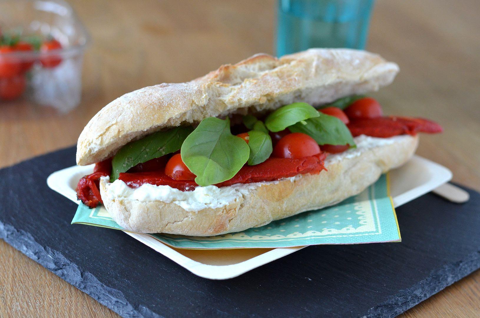 Simple Lunchtime Pizza Sandwich