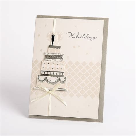 China Deluxe Latest 3D Handmade Wedding Invitation Card