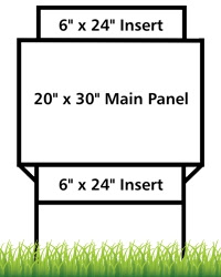 Real Estate Frames Of All Sizes Plus Yard Sign Stakes