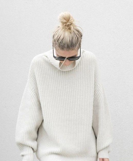 3 layers turtleneck sweater wool female mask 9