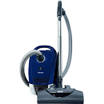 Miele Compact C2 Electro+ PowerLine - SDCE0 Canister Vacuum - HEPA - Blue marine