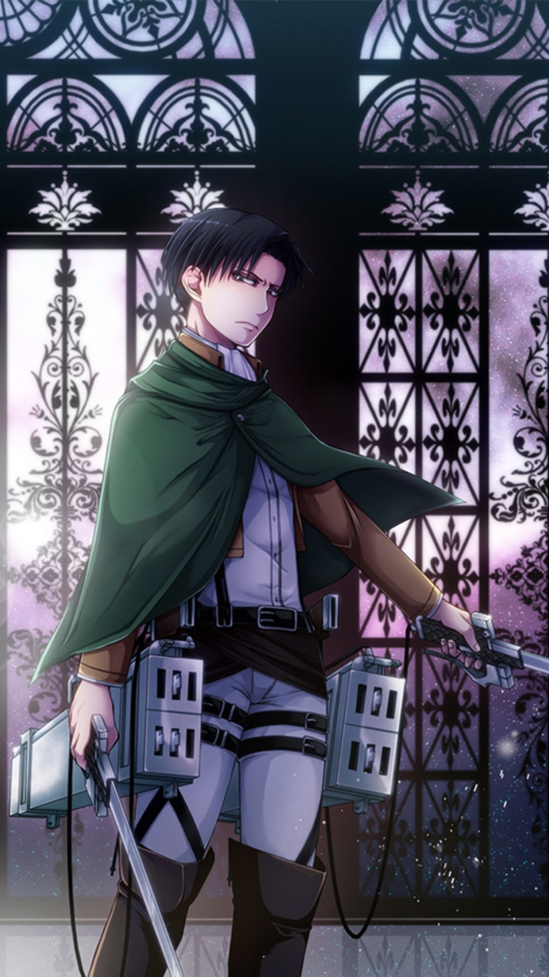 Anime Attack On Titan Levi Anime Wallpapers