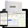 Energy savings and comfort solutions with intelligent commercial thermostats