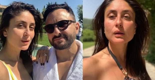 Sun-ki**ed selfies of Kareena, Saif and Taimur from Tuscany