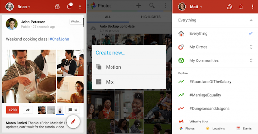 Google+ for Android revamped with new Auto Awesome features, photo tweaks and a refreshed UI