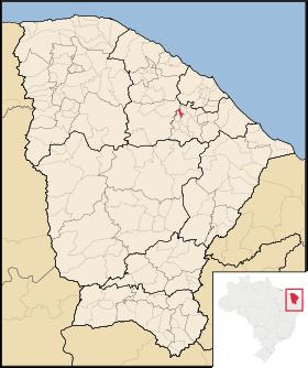 Localização de Guaramiranga