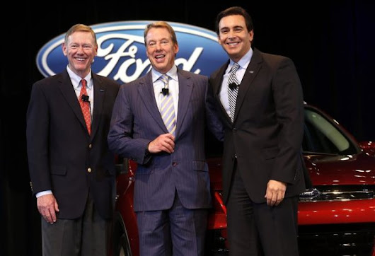 Ford CEO Mulally to exit Ford in July, successor vows continuity