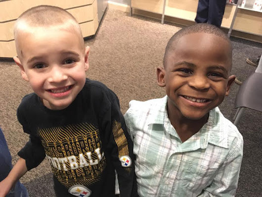 A Five Year Old Boy Asks to Get the Same Short Haircut as His Best Friend To Fool Their Teacher