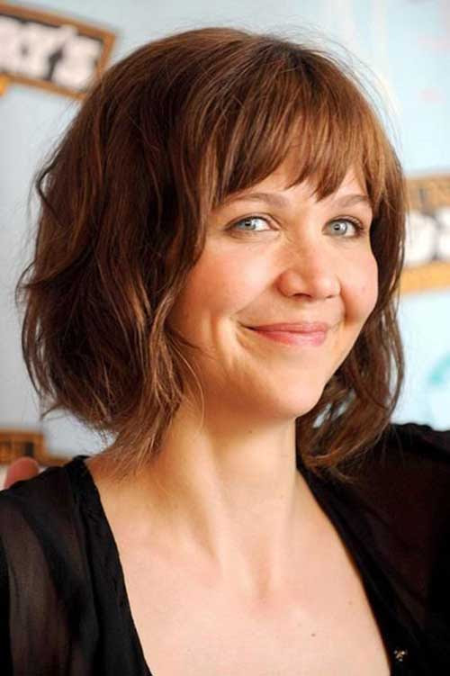 25 Short Bobs for Round Faces Bob Hairstyles 2019