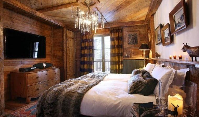 Déco chalet montagne : 99 idées pour la chambre à coucher