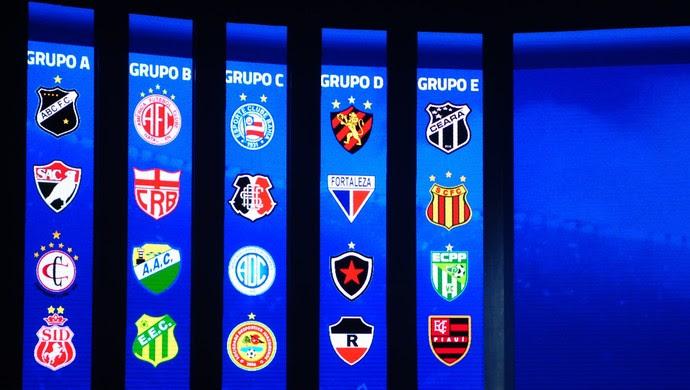 Sorteio Copa do Nordeste 2016 (Foto: Alexandre Lago/GloboEsporte.com)