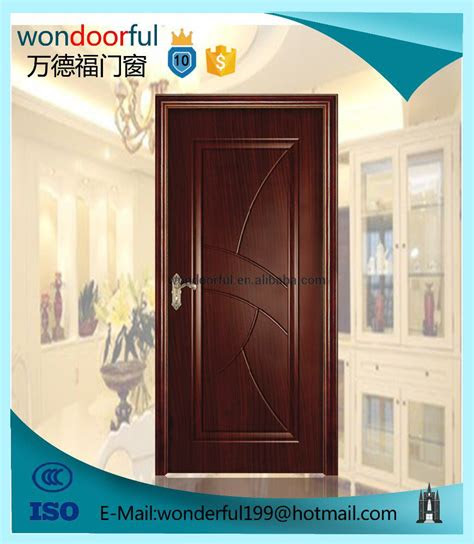 price china  selling simple teak wood door designs