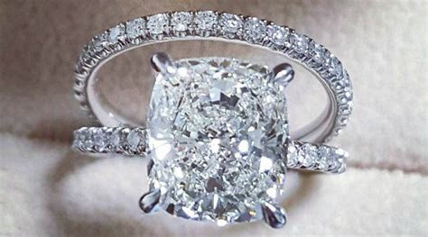 Best 25  Cushion cut diamonds ideas on Pinterest   Cushion