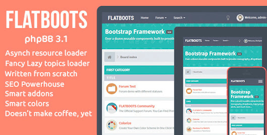 FLATBOOTS - phpBB 3.1 and 3.0