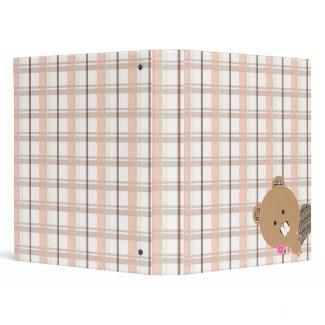 Kawaii Beaver Binder binder
