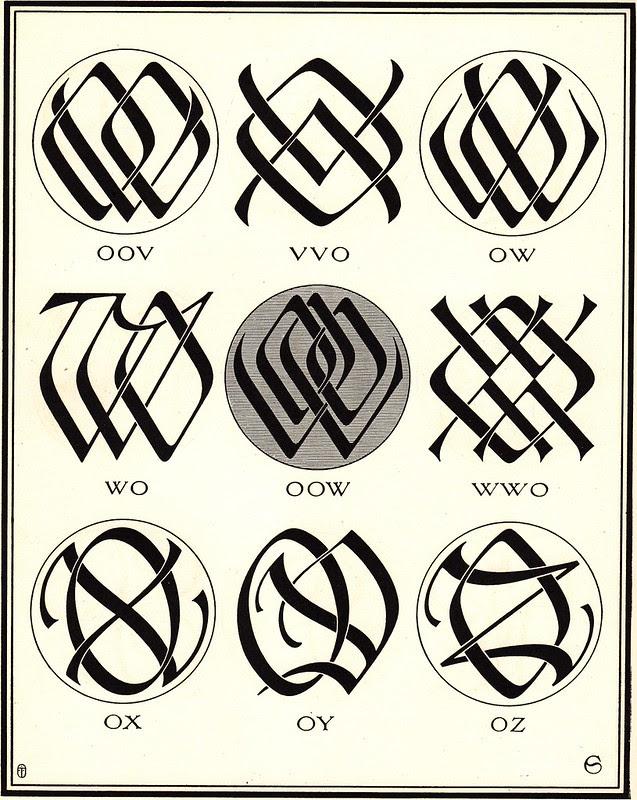 Monograms & Ciphers by AA Turbayne 1912 j